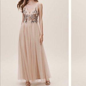 Anthropologie Isabel Dress. Size 8 in Blush